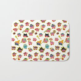 Kirby is swallowing everyone in here. Bath Mat