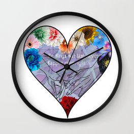 Slightest Touch Wall Clock