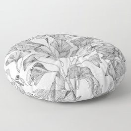 Gingko biloba Floor Pillow