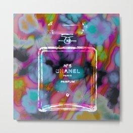 CC No.5 Floral Remix Metal Print