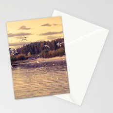 Flying around Stationery Cards