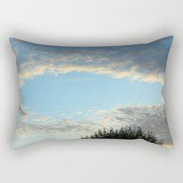 October - Cloud Pool Rectangular Pillow