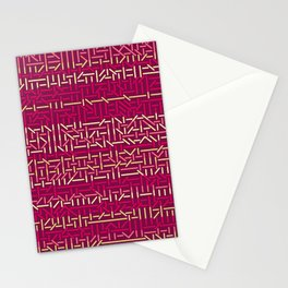 45 Degrees: Pink Shock Stationery Cards