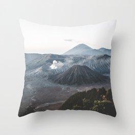 Bromo, Indonesia Throw Pillow