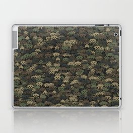Invaders camouflage Laptop & iPad Skin