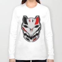 werewolf Long Sleeve T-shirts featuring WereWolf by FWAETI