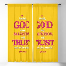 TRUST and not be afraid Blackout Curtain