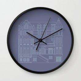 Very Royal - Blueprint Wall Clock