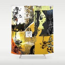 Exquisite Corpse: Round 1  Shower Curtain