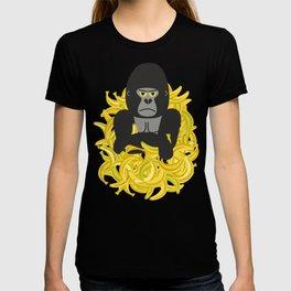 Gorillas and bananas by unPATO T-shirt