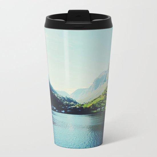 Mountains XII Metal Travel Mug