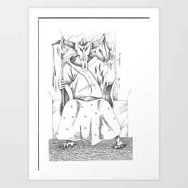 Hierophant of the Major Arcana Art Print