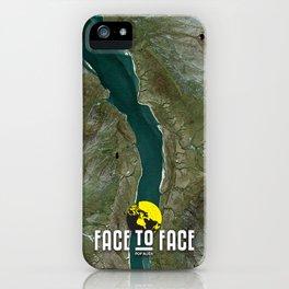Face To Face - Ape & Man iPhone Case
