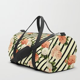 Chrysanthemum Rain Duffle Bag