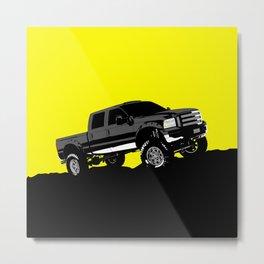 pickup truck Metal Print