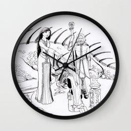 DragonCult Wall Clock