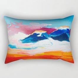 Ah Create And Destroy Rectangular Pillow