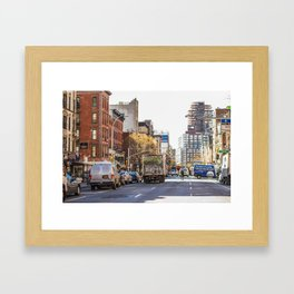 Street View Framed Art Print