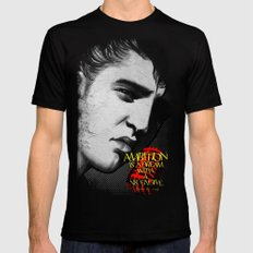 Elvis Presley-BnW Mens Fitted Tee 2X-LARGE Black