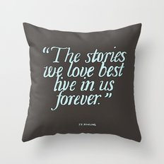 Harry Potter Quote #2 Throw Pillow