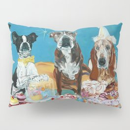 The Last Dessert Dog Portrait Pillow Sham
