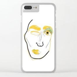 Stank Eye Clear iPhone Case