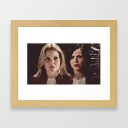 and somehow that makes us- I don't know, unique. Framed Art Print