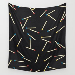 Matchsticks Wall Tapestry