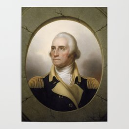 George Washington Portrait Poster