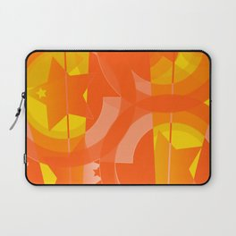 hoe is afraid of orange and yellow Laptop Sleeve