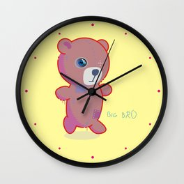 Taddy (Big Brother) Wall Clock