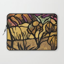 """""""A Mile Out of Alice Spings"""" Margaret Preston Laptop Sleeve"""