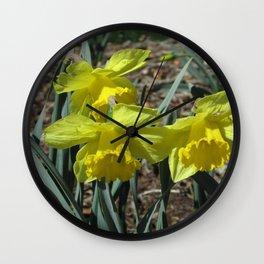 Buttercup Wall Clock