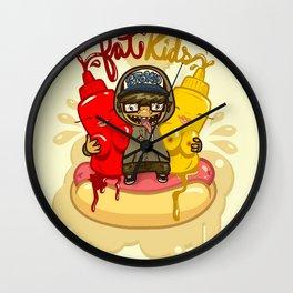 Fat Kids Wall Clock