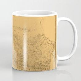 Map of Sausalito 1868 Coffee Mug