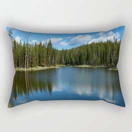 Tranquil Morning At Gull Point Drive Rectangular Pillow