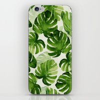 tropical iPhone & iPod Skins featuring TROPICAL by judith van den hoek