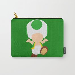 Green Toad (Super Mario) Carry-All Pouch