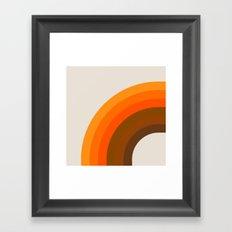 Golden Bow Framed Art Print