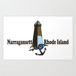Nantucket Island. Art Print