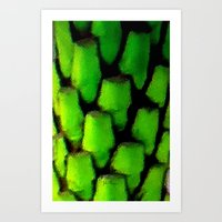 palm Art Prints featuring Palm by JT Digital Art