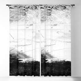 Love, Hate 1a by Kathy Morton Stanion Blackout Curtain