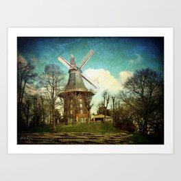 Bremen. iPhonographie Art Print
