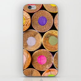 COLORED PENCILS 3 iPhone Skin