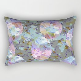 Painted Eggs Collage Rectangular Pillow