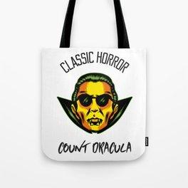 Classic Horror Count Dracula Tote Bag