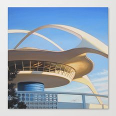 LAX Geometry Canvas Print