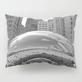 Chicago Clouds Pillow Sham