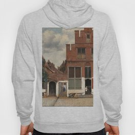 View of Houses in Delft, Known as 'The Little Street', Johannes Vermeer, c. 1658 Hoody