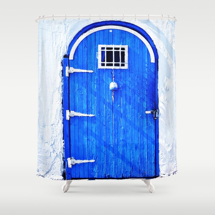 Doors exposition Shower Curtain